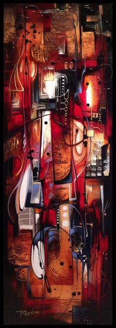 Phaedra abstract painting by Amytea --- brings to mind looking down on a brightly lit city street at night Colors And Emotions, Traditional Artwork, Night City, World Of Color, Drawing Tools, City Streets, Sculpture, Three Dimensional, The Dreamers