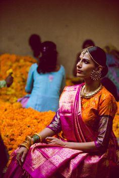 South Indian Bridal Inspiration: Gaurang Shah's Saris