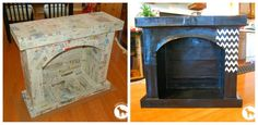 FIREPLACE COLLAGE