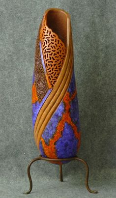 Bold & Sassy by Kathe Stark is it a gourd?