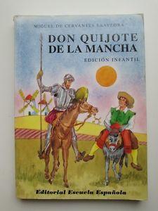 Don Quijote de la Mancha (Edición Infantil) | eBay