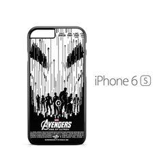 Avengers Marvel Poster iPhone 6s Case
