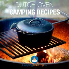 Camping or RVing without a dutch oven at hand just isn't the same? Are you a fan of this campfire cooking tool? Here's some cool  recipes you can try outdoors or even at home! :)