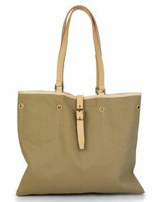 Beige Iris Shopping Bag BLEU DE CHAUFFE