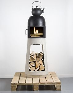 wuehl yanes: wood stove at interieur 2010 kortrijk