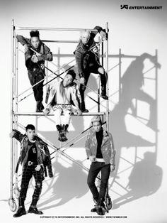 BIGBANG  ♡  G-Dragon ,Daesung ,TOP ,Seungri , and Taeyang