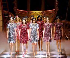 At Milan Fashion Week, Cinderella goes to Dolce & Gabbana #Lifestyle #iNewsPhoto