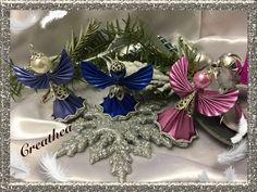 Holiday Ornaments, Christmas Crafts, Dyi Crafts, Jewelry Crafts, Creations, Holidays, Christmas Things, Craft, Ideas