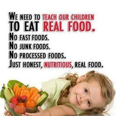 Just honest, nutritious, real food!