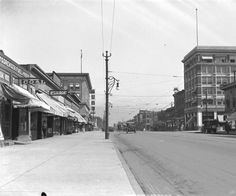 Looking north from Ellsworth on Broadway :: History Colorado