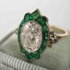 TOP +10 New post vintage emerald rings visit wedbridal.site