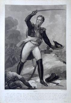 """Michel Ney, Duc d'Elchingen, Prince de la Moskowa, """"le brave des braves"""" (né le…"""