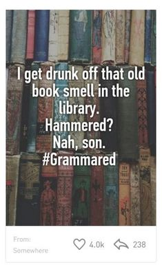 Love the smell of old books ☺