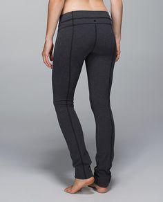 Lululemon Skinny Groove Pant*Cotton