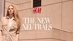 H&M have launched their Spring -Summer 2015 global campaign fronted by Dutch model lara Stone. 'The New Neutrals' collection photographed by Mikael…