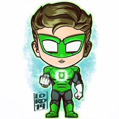 New 52 Green Lantern!!! ✏✏✏✏✏ #lord_mesa #lordmesaart #artwork #drawing #illustrator #illustration #fanart #fanboy #geek #cute #chibi #comicart #comicbooks #greenlantern #haljordan #new52 #dccomics...
