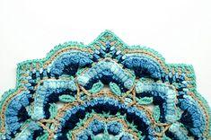 Ravelry: Salutations Mandala pattern by The Loopy Stitch Free Mandala Crochet Patterns, Free Crochet, Potholders, Afghans, Ravelry, Crocheting, Free Pattern, Crafty, Stitch
