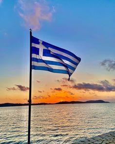 Greece Flag, Greece Travel, Greece Trip, Greece Holiday, Red Wallpaper, Big Love, Geography, Greek, Island
