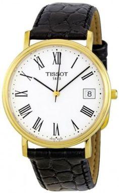 931ae8ddc6b Relógio Tissot Men s T52542113 T-Classic Desire Leather Watch  Relógio   Tissot Relógios Masculinos