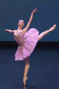 The fifth Shanghai International Ballet Competition - dancer Yu Hang