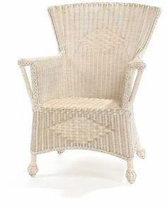 Cottage Iced Tea Wicker Chair