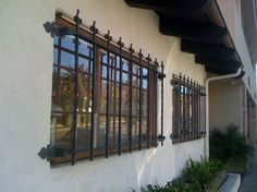 Window Guard-Summerland Custom Steel Window Bars, Forged steel bars, Wrought Iron Bars Detail Page