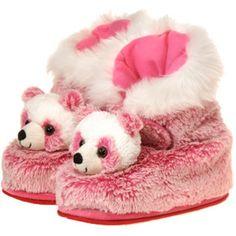 Plush Pink Panda Boots - Child Size (SKU 1946617)
