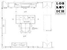 #BethesdaStyle ~ Kitchen design plans from Lobkovich Inc. Kitchen Designs! www.Lobkovich.com #LobkovichInc