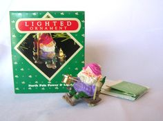 1987 HALLMARK North Pole Power and Light Lighted Ornament MIB by MermeowTreasures, $20.00