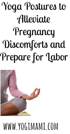 Prenatal Yoga is a great way for expecting moms to alleviate pregnancy discomforts and prepare for labor.