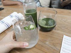 evergreen juice:cucumber / celery / romaine / spinach / kale / parsley…