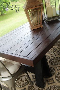 Outdoor Dining Table Wood
