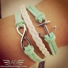 Corrine and Dana, I'm gonna buy infinity charms so we can make these bracelets together!! :)