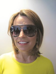 Today Show co-anchor Savannah Guthrie wearing Michael Kors sun style M2836S 'Jemma!'