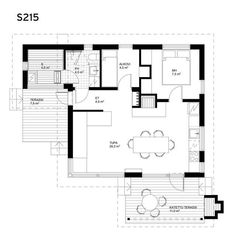 Beach Cottage Style, Beach Cottages, Floor Plans, Houses, Floor Plan Drawing, House Floor Plans, Beach Houses