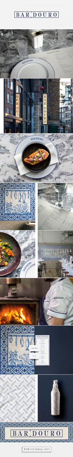 Bar Douro on Behance - created on Corporate Design, Corporate Identity, Visual Identity, Exterior Signage, Restaurant Branding, Signage Design, Bakery, Typography, Behance