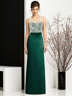christine, you'll either love or hate this After Six Bridesmaids Style 6675 http://www.dessy.com/dresses/bridesmaid/6675/