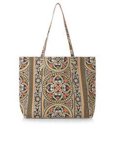 Arya Reversible Tote Bag | Multi | Accessorize