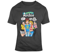 Archie And Friends T Shirt Vintage Mode, Archie, Retro, Gifts For Friends, Girl Power, Look, Shirts, Cotton, Mens Tops