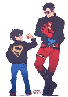 Read SUPERHERMANOS from the story Batfamily & Superfamily by Estekuroriko with 582 reads. Superhero Family, Superman Family, Bat Family, Math Comics, Marvel Dc Comics, Phineas E Ferb, Batman Y Superman, Univers Dc, Dc Memes