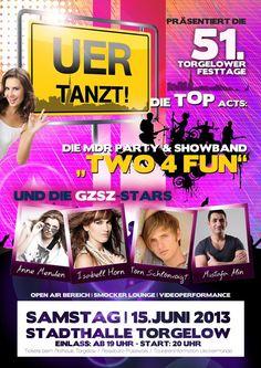 UER Tanzt - zu den 51. Festtagen in Torgelow am 15.06.2013 Mehr Infos auf www.mv-events.de