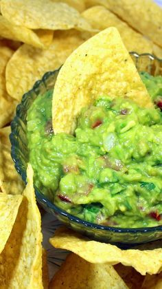 """WORLD's BEST GUACAMOLE with a Secret Ingredient There are plenty of hints and tips for the technique of making fresh made guacamole. Always a crowd pleaser and welcome """"bring along"""" dish for any PotLuck or big gathering. This is an incredible recipe, combination of traditional ingredients with proper technique to bring out the most flavor... and a SECRET Ingredient... Shhhhh."""