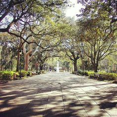 STYLEVISA Travels: #Savannah, #Georgia | Forsyth Park