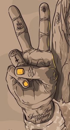 """Bonethugs"" by Shaun Oakley, via Behance"