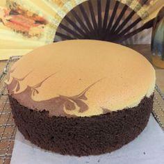 Marble Butter Sponge Cake