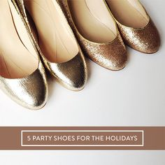 5 party shoes for the holidays