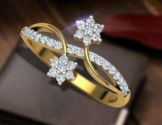 Baguette Ring / Diamond Baguette Ring in Gold / Solid Gold Baguette Ring / Promise Ring / Baguette Engagement Ring / Fine Jewelry Features Gold Ring Designs, Gold Earrings Designs, Gold Jewellery Design, Men's Jewellery, Designer Jewellery, Diamond Jewellery, Gold Finger Rings, Gold Rings Jewelry, White Topaz Rings