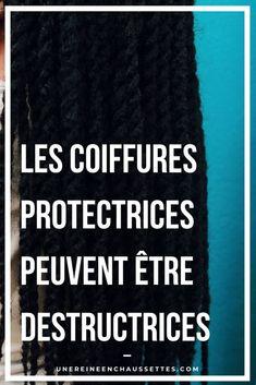 Faire des coiffures protectrices, c'est bien. Mais encore faut-il les faire de la bonne manière afin de ne pas transformer vos coiffures protectrices en coiffures destructrices. #cheveuxcrépus #coiffuresprotectrices #coiffuresdestructrices #alopécie #cheveuxcrépuscourts #cheveuxcrépuslongs #soinscapillaires #retouraunaturel #routinecapillaire #cheveuxcrépusnaturels