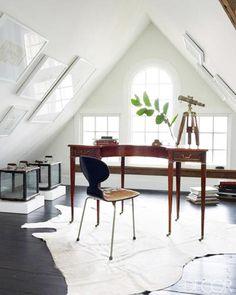 55 Attic Room Design Ideas, Utilizing Small Spaces Renovation Projects Attic Spaces, Attic Rooms, Attic Playroom, Attic Bathroom, Bathroom Grey, Small Spaces, Attic Renovation, Attic Remodel, Elle Decor