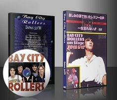 Bay City Rollers On Stage Live in Japan 1978 on DVD